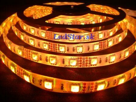 RGB LED pásik, SMD5050, 300LED, 12V