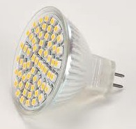 LED žiarovka MR16, GU5.3, 3W